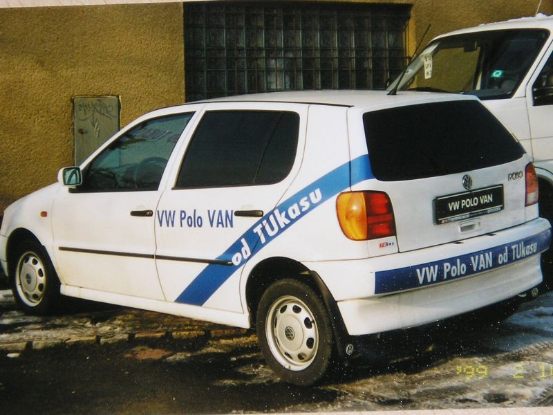 VW Polo VAN - zadek 05